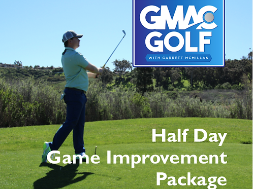 Half Day Game Improvement Package