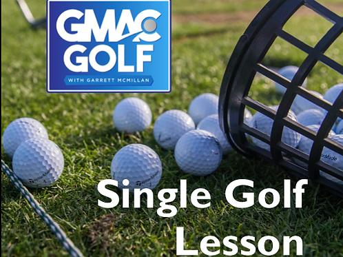 Single Golf Lesson