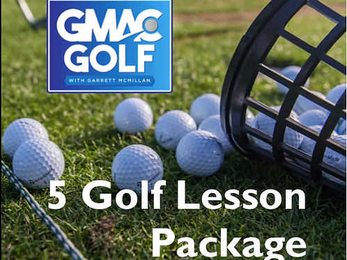 5 Golf Lesson Package