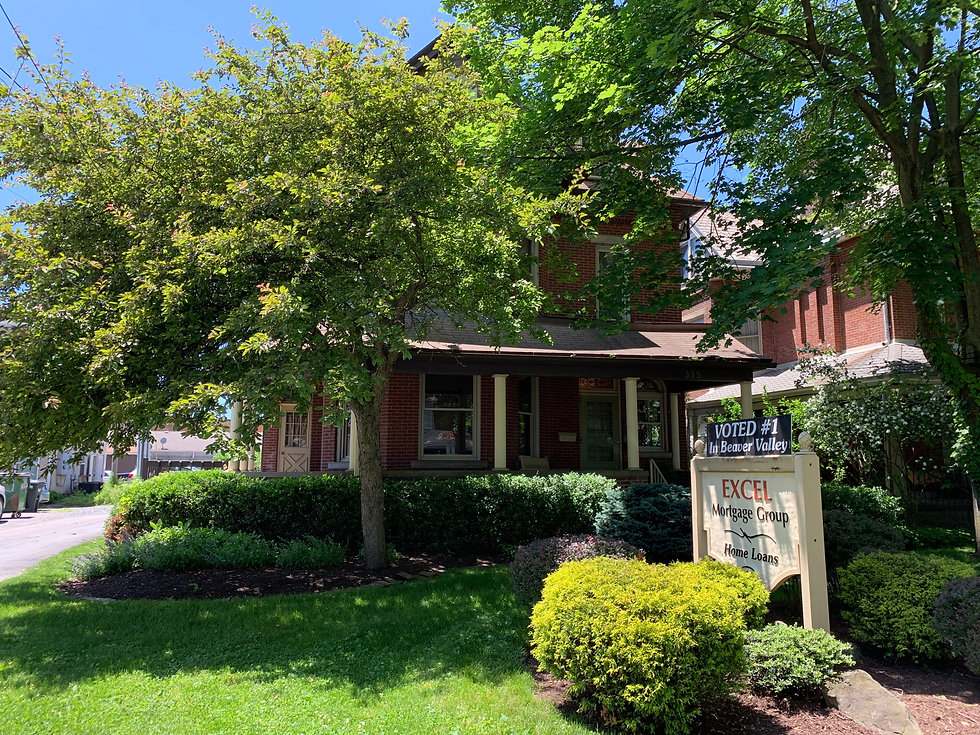 Excel Mortgage Group, Inc. office, located in Beaver, PA.