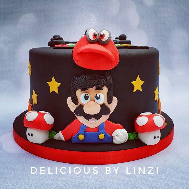 Supermario cake