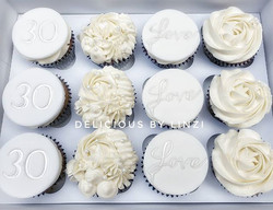 Gorgeous white on white with a touch of