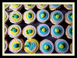 duck egg and lemon cups
