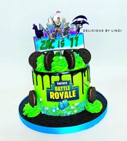 fortnite drip cake