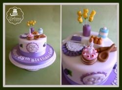 Baking cake