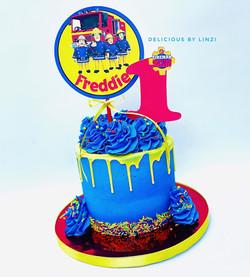 freman sam drip cake