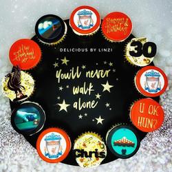 LFC cupcake board