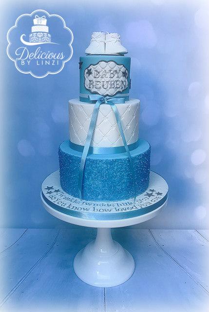 blue baby shower