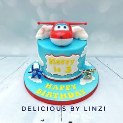 Superwings themed birthday cake 🛩🛩🛩_#