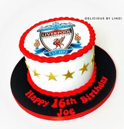 LFC sugarpaste cake