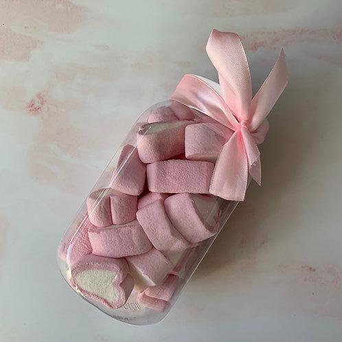 Medium Sweet Jar Heart Marshmallow