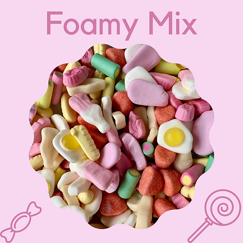The Foamy Sweet Pouch