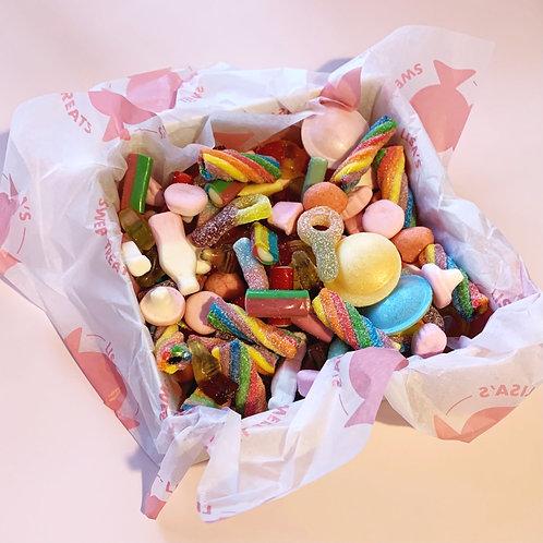 Small Square Sweet Box - Mixed Pic n Mix