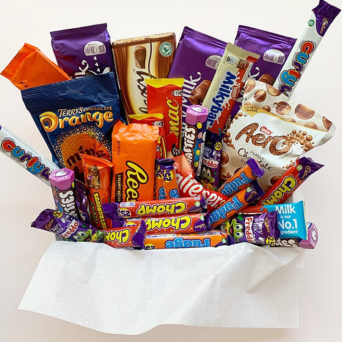 Giant Chocolate Box - Selection of Treats