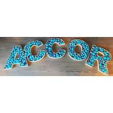 Colour Themed Sweet Filled Letters for Accor