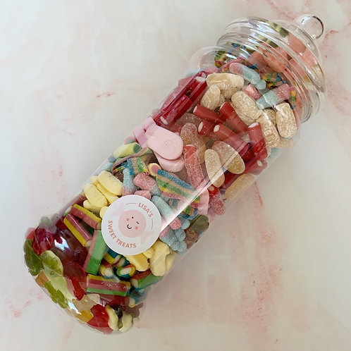 Giant Sweet Jar, 1.6kg Mixed