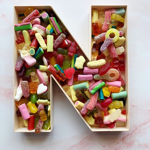Sweet Filled Letters