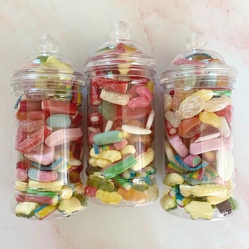 Small Sweet Jar x3, Mixed