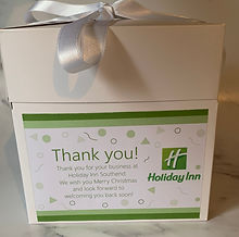 Corporate Christmas gifts for Holiday Inn