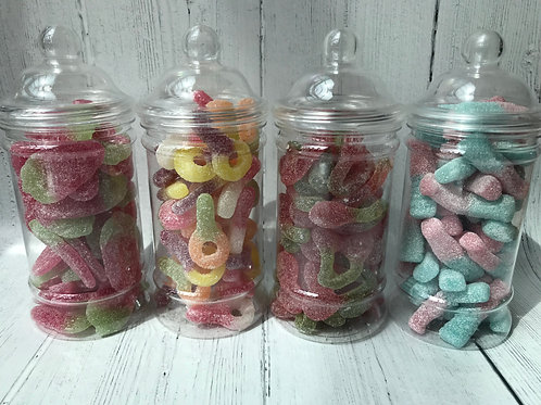 Small Sweet Jar x4, Choose Your Sweets