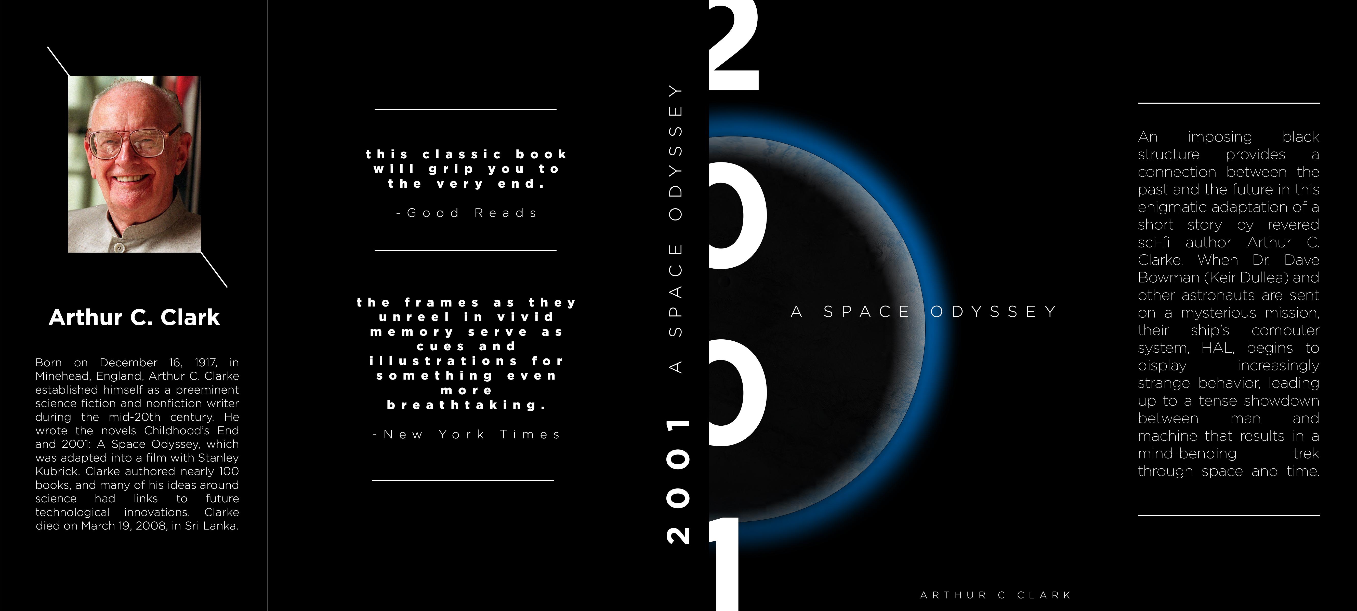 Brady P BookCover 2001 a space odyssey