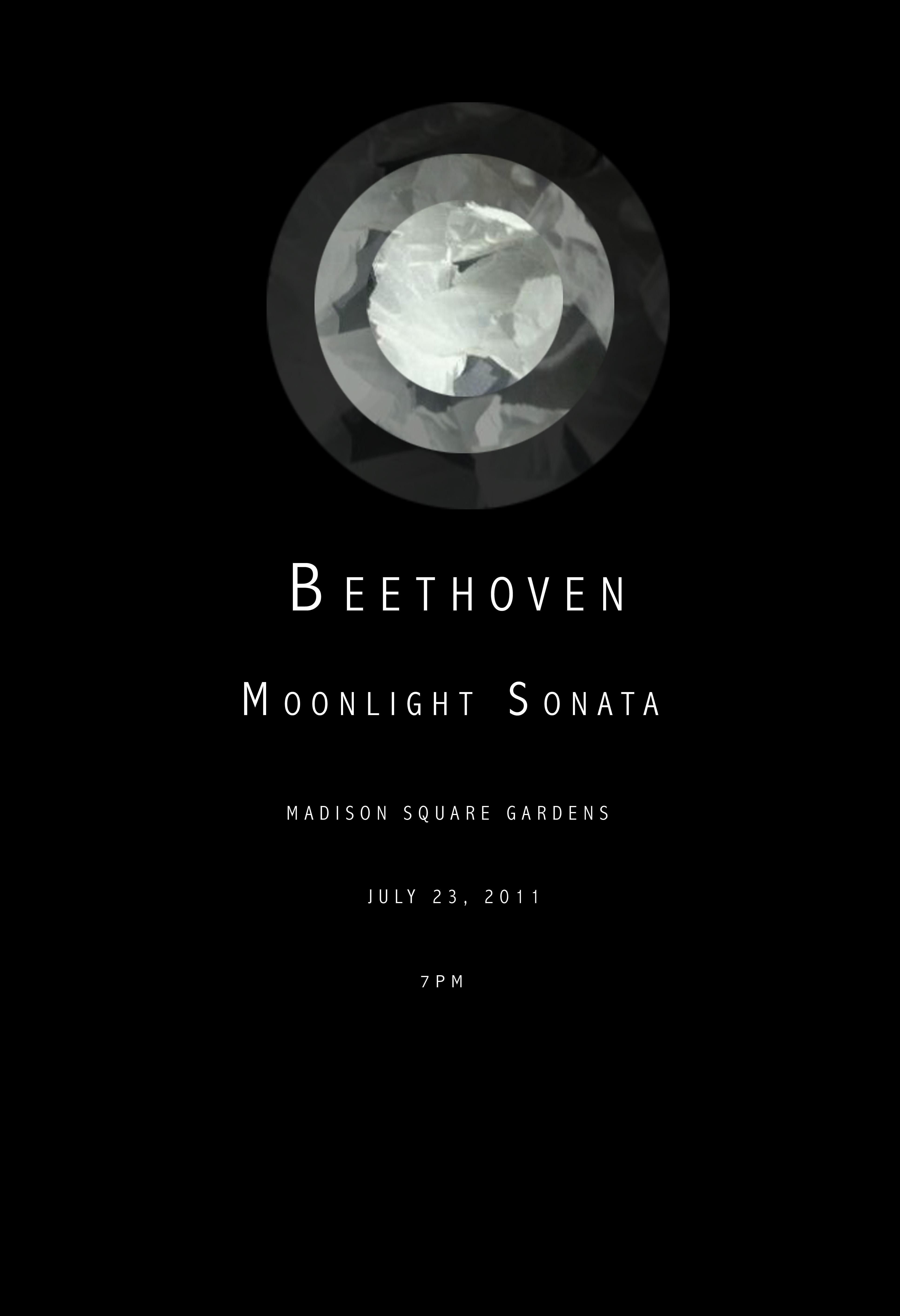 Emily B Moonlight Sonata Poster 1