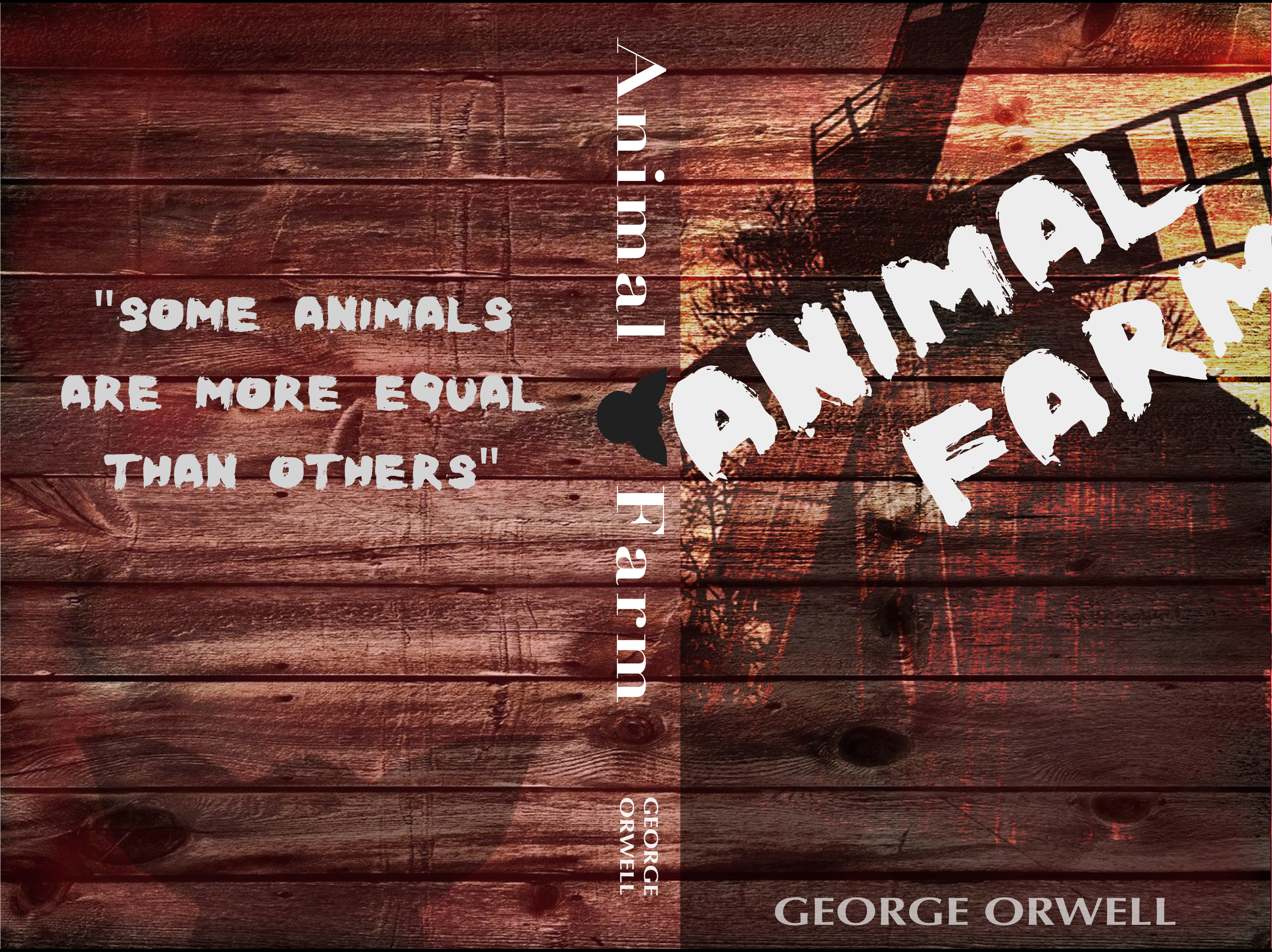 Joshua Moe Animal Farm Book Cover