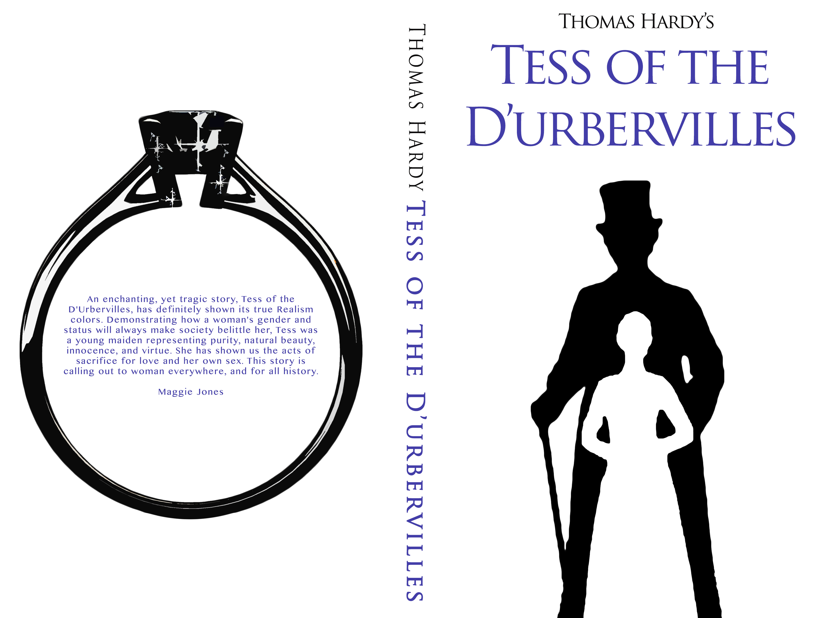 Kiera Helms Book Cover Tess of the D'urbervilles
