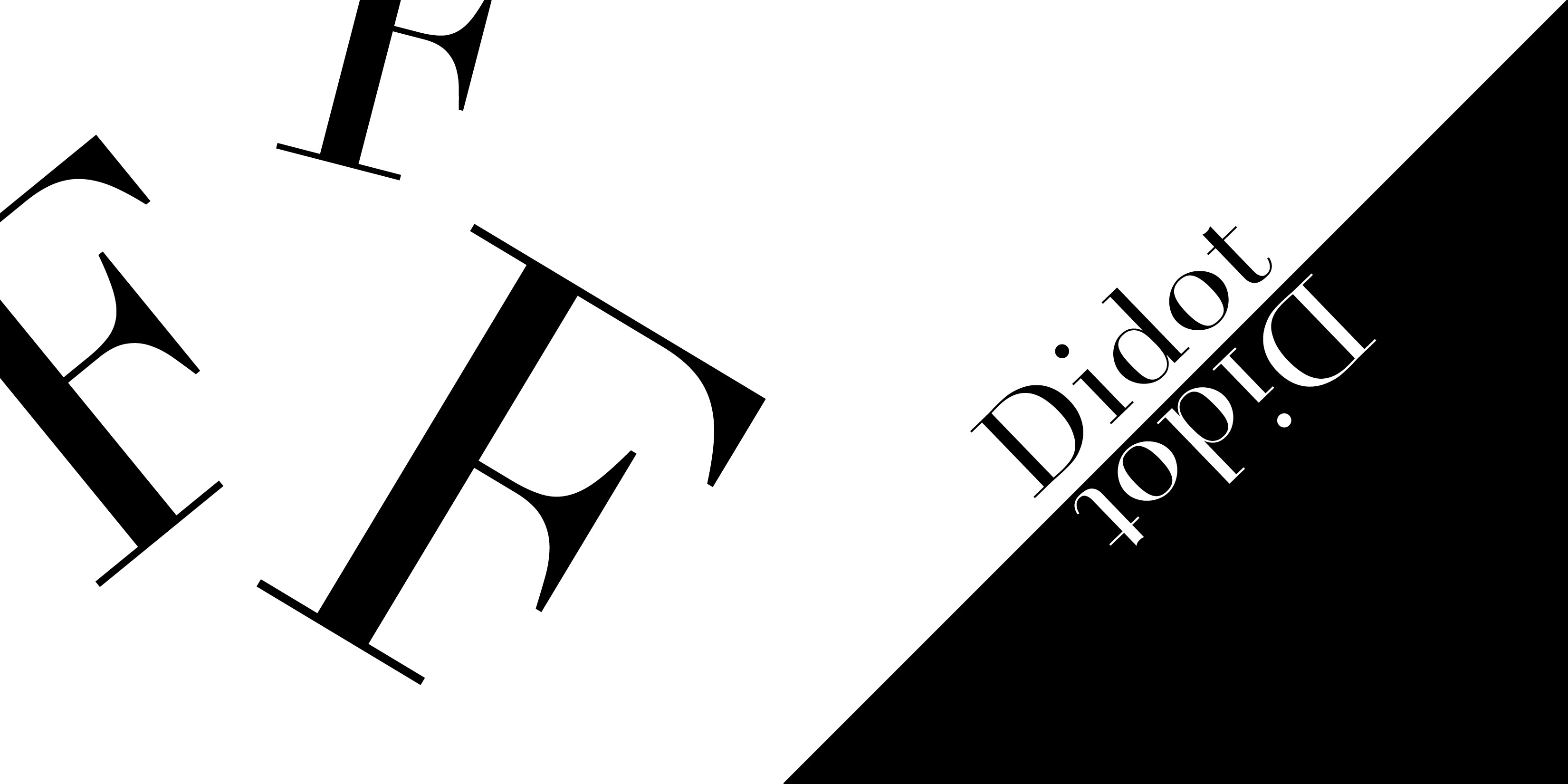 Didot Typeface Jack Bauer8