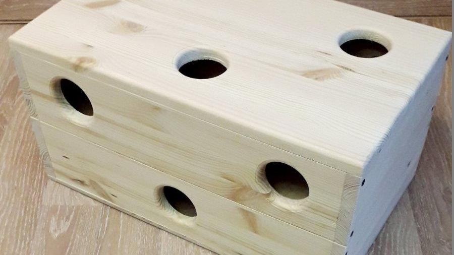 Домик-лабиринт для грызунов большой 50х30х25