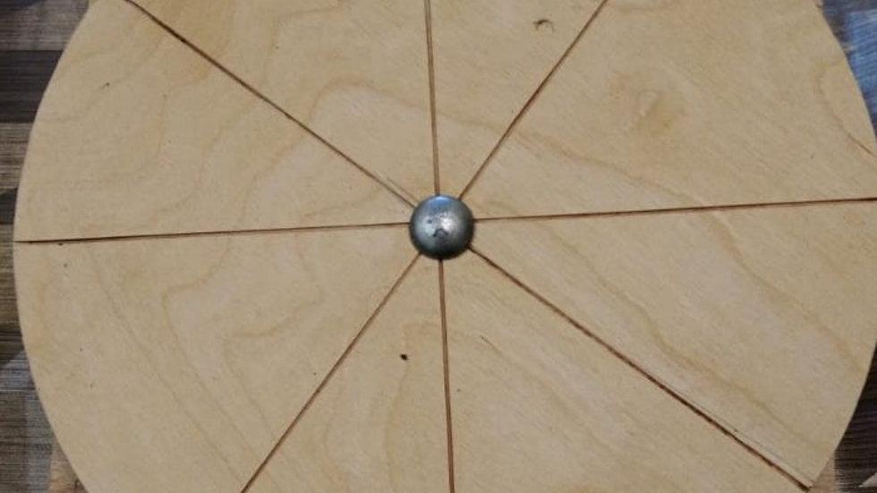 Беговой диск-тарелка для грызунов 25 см