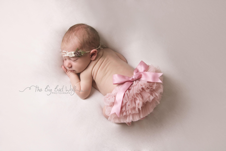 Newborn portrait photography