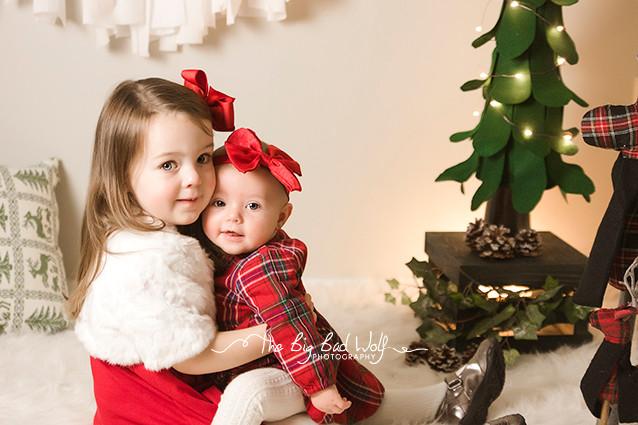 Christmas mini sessions in Princeton, NJ