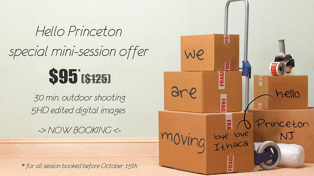 Mini-session portrait photography in Princeton, NJ