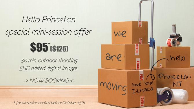 Bye bye Ithaca, hello Princeton!