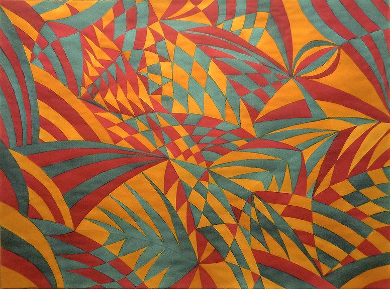 Davide Barbarino - Bird Camouflaged, 2018 - watercolors on cotton paper 56x76cm