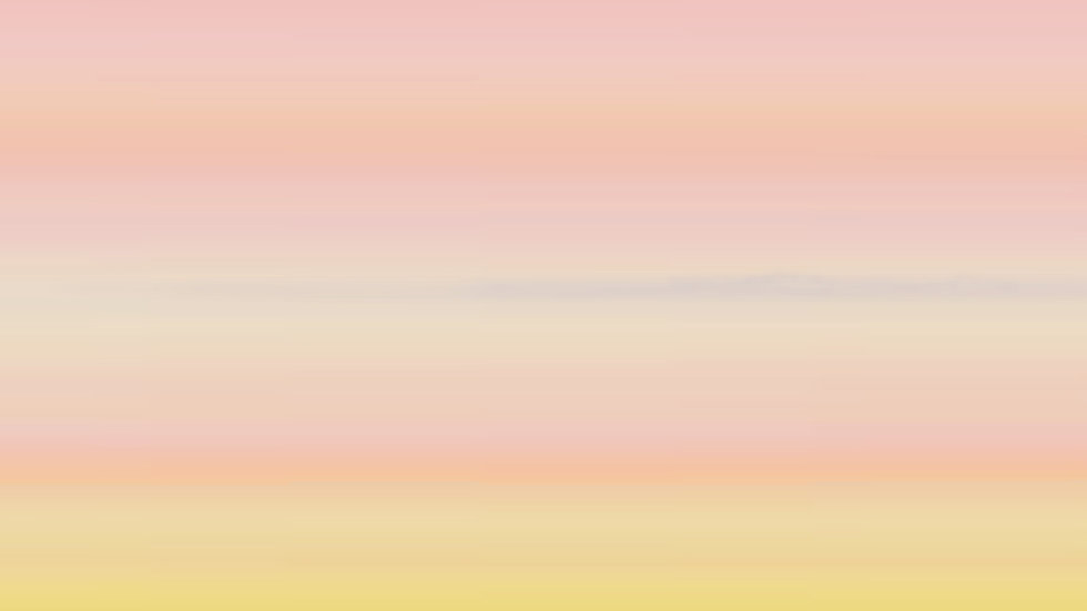 Long horizontal pink abstract art in pastel stripes; Wide narrow