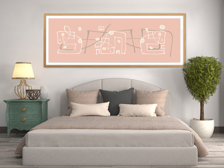 What art is best for a bedroom?