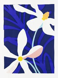 'Wedding Bush', Tracey Gibbs, limited edition screenprint, 420 x 594mm