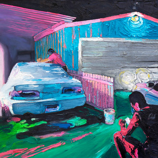 'Because Driftcars' by Wade Taylor