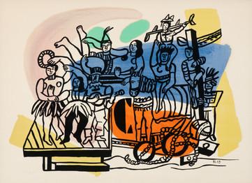 'Le Cirque' by Ferdinand Leger
