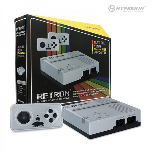 RetroN 1 Gaming Console for NES (Silver)