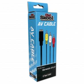 AV Cable for Sega Genesis 2, 3, Nomad, or 32x