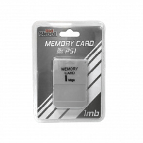 PS1 Memory Card for Sony PlayStation 1 (1MB)