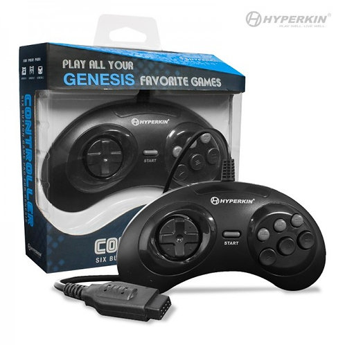 Sega Genesis six button controller