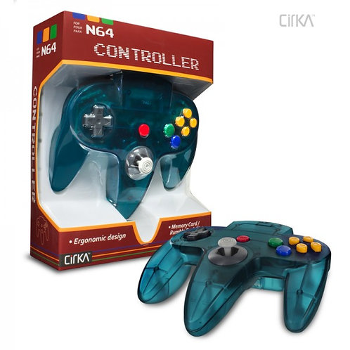 N64 Controller (Turquoise)
