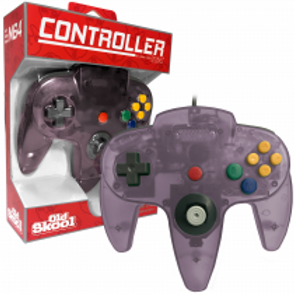 N64 Controller Atomic Purple
