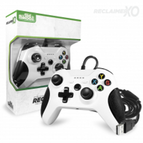 RECLAIMER Wired Controller for XBOX ONE (WHT)