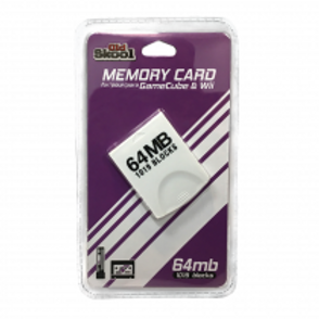 GameCube and Wii Compatible 64MB Memory Card