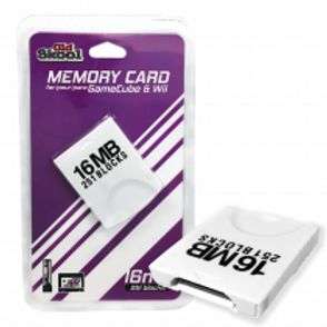 GameCube and Wii Compatible 16MB Memory Card